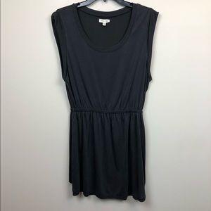 Silence + Noise Gray Sleeveless Dress M